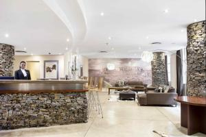 The lobby or reception area at Premier Hotel Mapungubwe