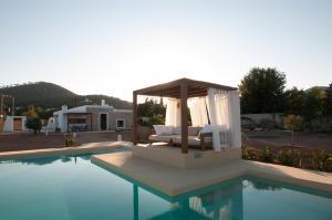 The swimming pool at or near Ibiza Holliday Villa Harmony