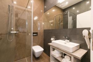חדר רחצה ב-Vienna Stay Apartments Castellez 1020