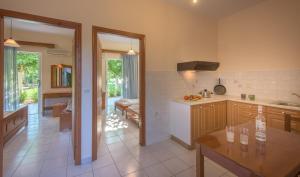 A kitchen or kitchenette at Natasa Studios
