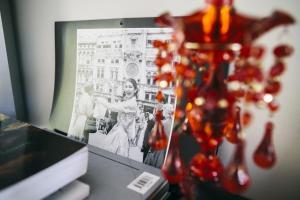 TV o dispositivi per l'intrattenimento presso Natural Home Apartment