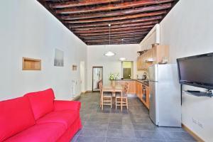 Coin salon dans l'établissement Cozy San Martino - My Extra Home