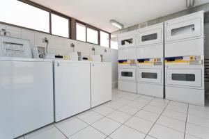 Una cocina o zona de cocina en Apartments Chile Santiago 2