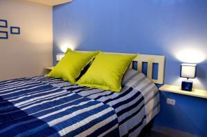 Cama o camas de una habitación en Historical Center Apartments