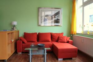 A seating area at Gastnet Apartments