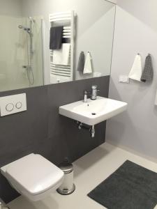 Łazienka w obiekcie Aquarius Apartment
