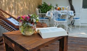 Restaurant ou autre lieu de restauration dans l'établissement Holiday Home Casa Bianca