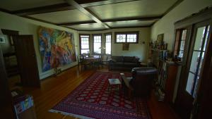 A seating area at Mission Creek Farm House