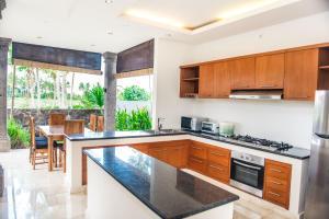 A kitchen or kitchenette at Julia Villa