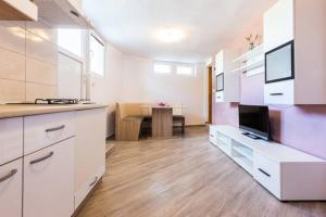 A kitchen or kitchenette at Apartments Villa Bosotina