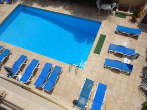 A view of the pool at Panklitos Tourist Apartments or nearby