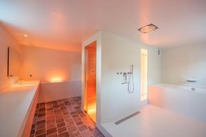 Een badkamer bij Logies Groot Okhorst