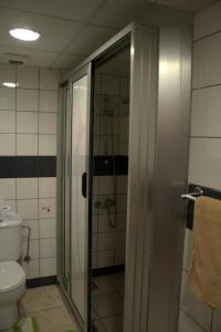 Ванная комната в Nick's Hotel Apartments