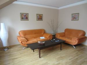 A seating area at VIP Apartments Sofia