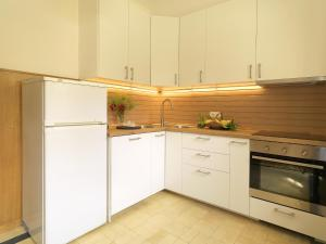 A kitchen or kitchenette at Feels Like Home Boavista House of Music with Private Garden