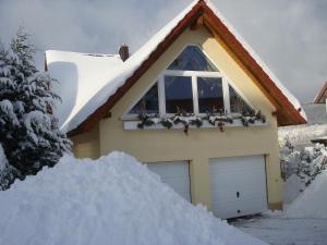 Ferienwohnung Bergblick im Winter