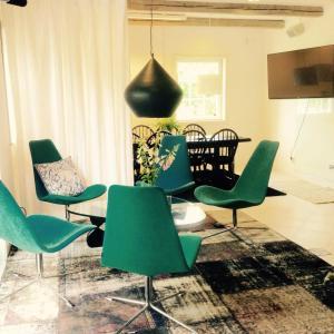 A seating area at Af Klara