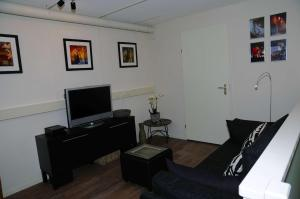 A television and/or entertainment center at Gastenappartement De Bergpoort