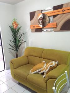 A seating area at Residencial Horizonte Tropical