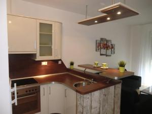 Kuchyňa alebo kuchynka v ubytovaní New Buda Apartment