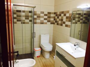 A bathroom at Casa Rustica