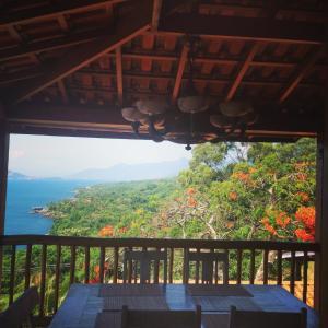 A balcony or terrace at Villa La Dolce Vita