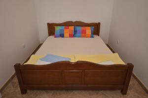 Krevet ili kreveti u jedinici u okviru objekta Apartments Morinj