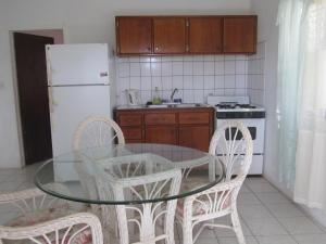 A kitchen or kitchenette at Silver Ray Apartments