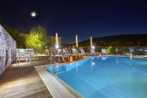 The swimming pool at or near Mystery Skiathos Luxury Residence