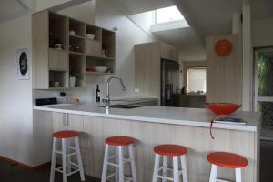 Kuchyň nebo kuchyňský kout v ubytování Riverside Retreat Roxburgh