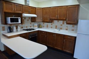 A kitchen or kitchenette at The Palace Suites