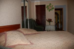 A bed or beds in a room at Apartment Ludmila