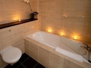 A bathroom at The Block Liverpool