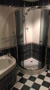 A bathroom at Apartmán Jáchymov