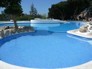 Der Swimmingpool an oder in der Nähe von Apartments Paraíso del Sur