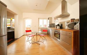 Küche/Küchenzeile in der Unterkunft Apartment Freiraum in den Alpen