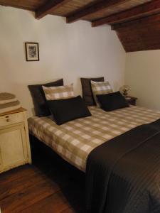 Postel nebo postele na pokoji v ubytování 't Nophof
