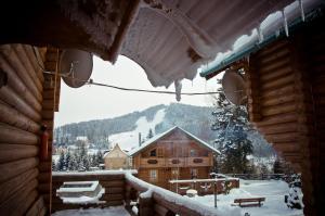 Gostynnyi Dvir a l'hivern