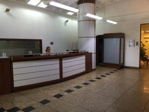 The lobby or reception area at Flat João Lira Leblon
