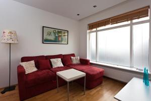 Zona de estar de Aurora Apartments