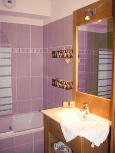 Ένα μπάνιο στο Appartement Le Chalet Des Rennes