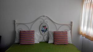 아시아 돈므앙 방콕 콘도미니엄 객실 침대