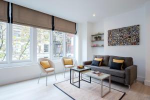 A seating area at The Rosebery Aparthotel