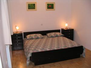 Postelja oz. postelje v sobi nastanitve Apartma Miranda