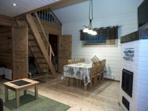 Ein Sitzbereich in der Unterkunft Vuokatinmaa Holiday Apartments