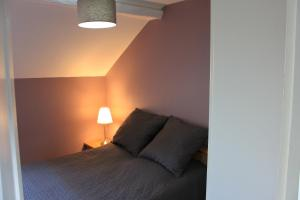Un ou plusieurs lits dans un hébergement de l'établissement Appartement 3 Pièces Bord de mer Place du 6 Juin