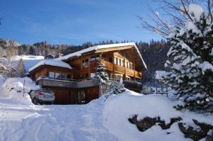 Ferienwohnung Leuweli im Winter