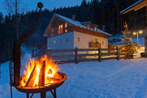 Silentium Dolomites Chalet since 1600 during the winter