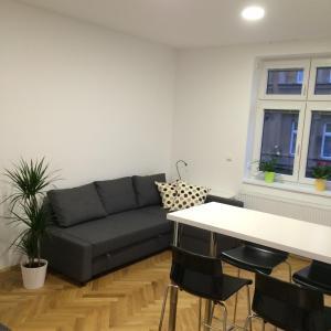 Χώρος καθιστικού στο Apartment Na Kopečku