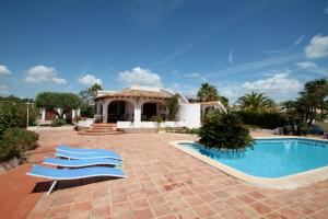 The swimming pool at or near El Barraco